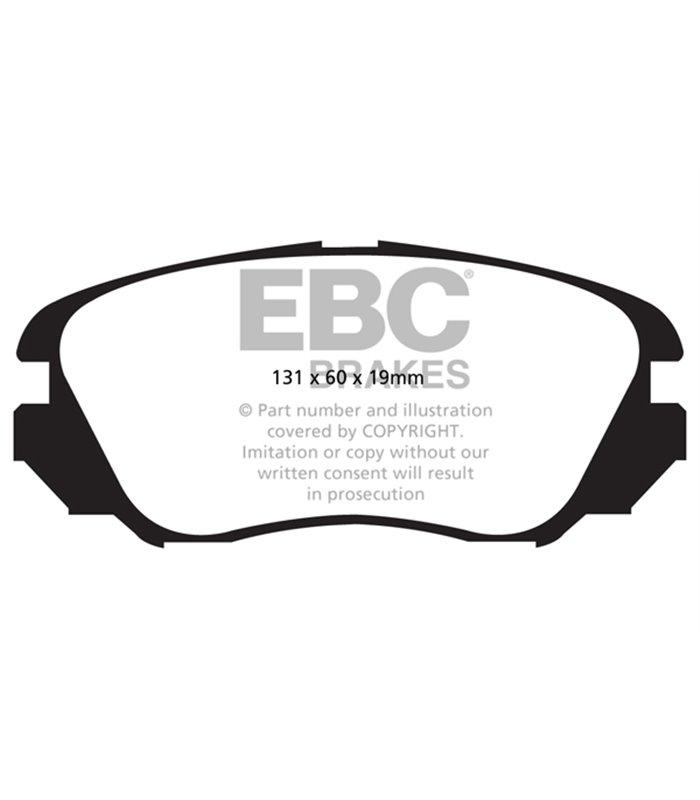 EBC Premium Disc disco de freno va también para Ford Capri III gecp 2.8 Super injecti